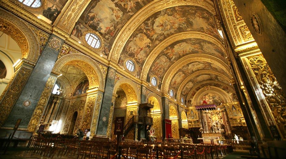 Valletta Sightseeing - St John Co-Cathedral