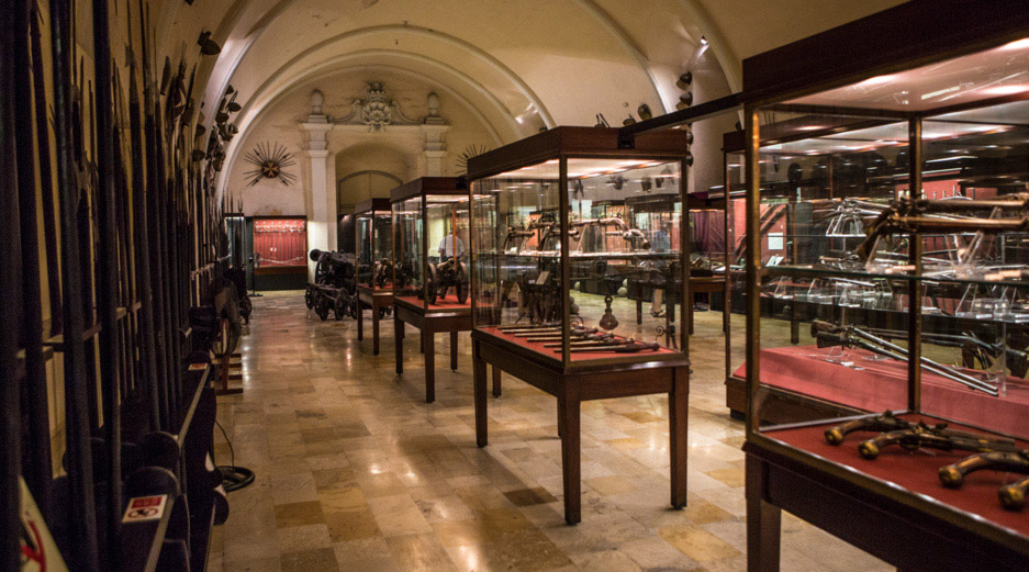 Valletta Museums - Palace Armoury