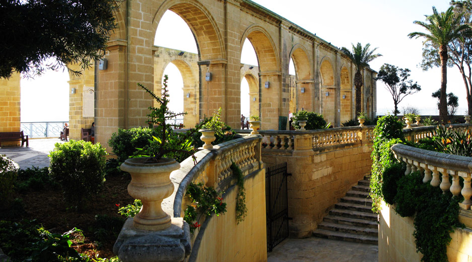 Valletta Sightseeing - Upper Barrakka Gardens