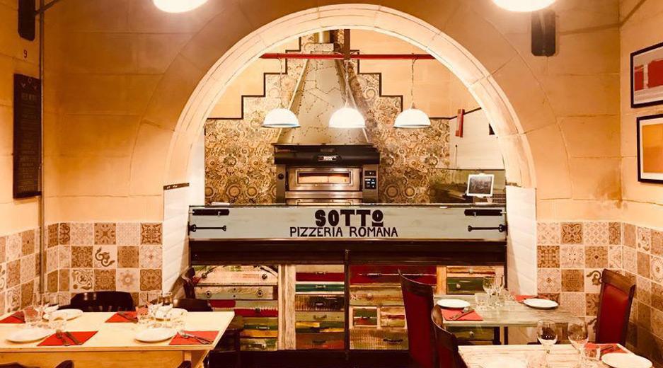 Valletta restaurants - Sotto Pizzeria Valletta