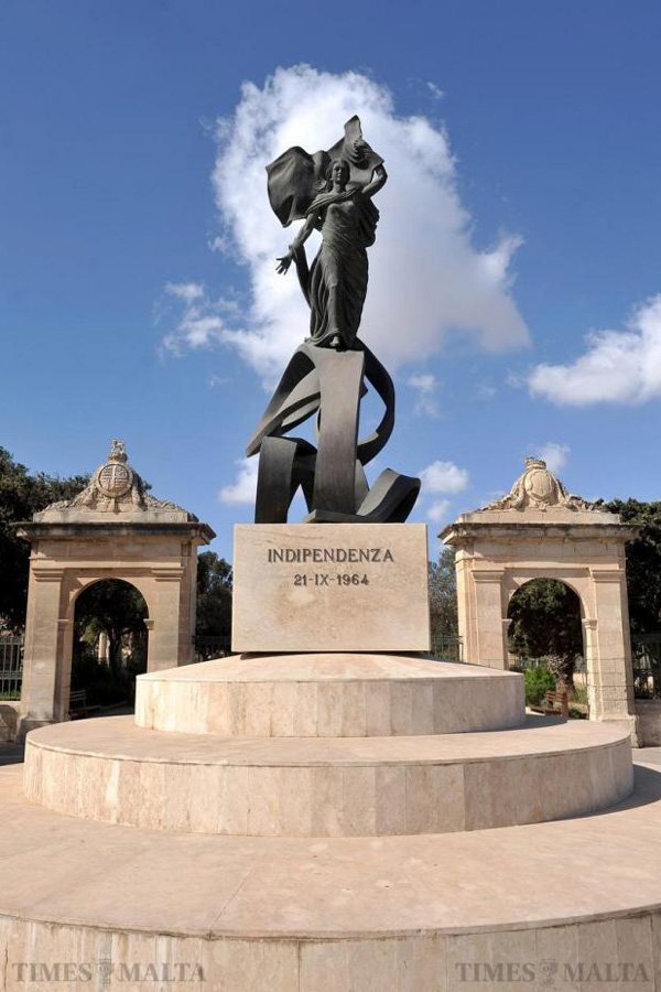Independence Monument, Floriana