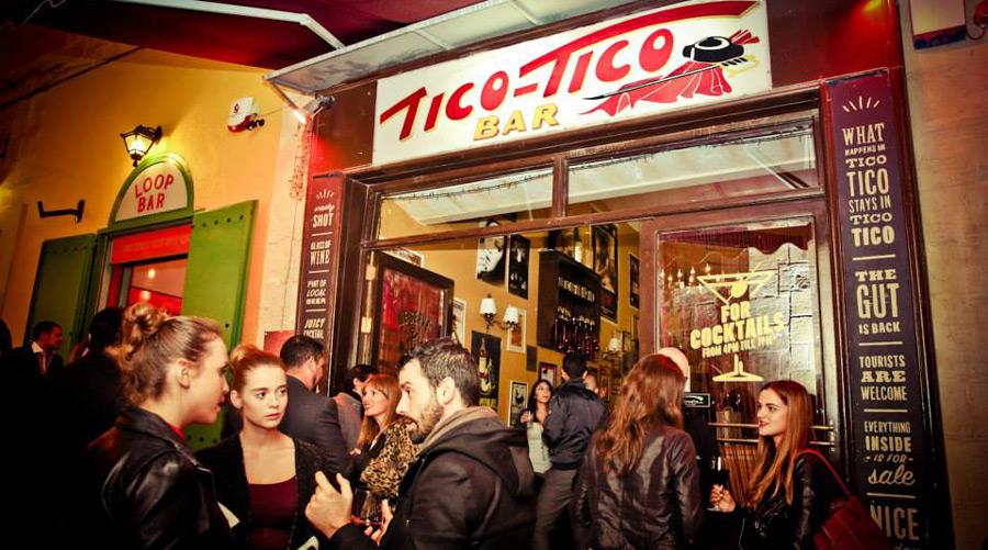 Bars in Valletta - Tico Tico