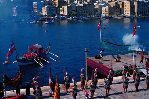 In Guardia Parade, Malta