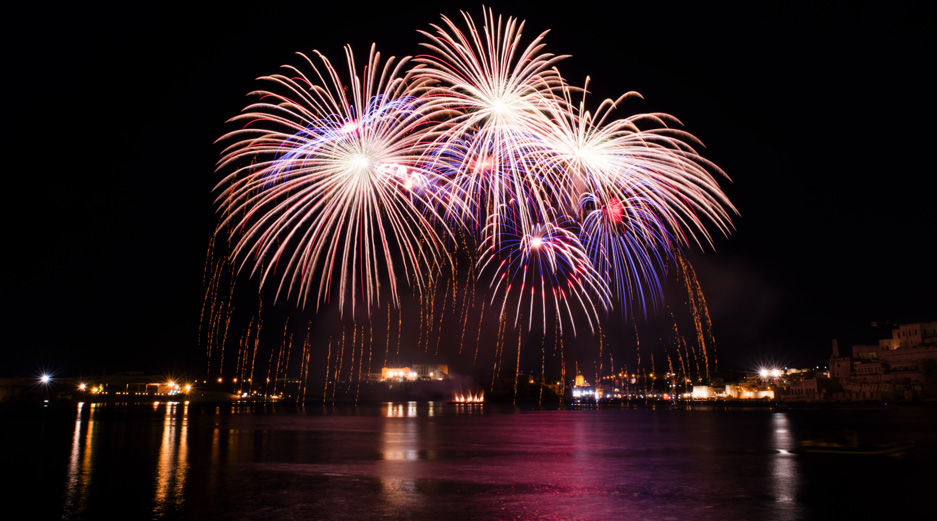 Fireworks, Grand Harbour
